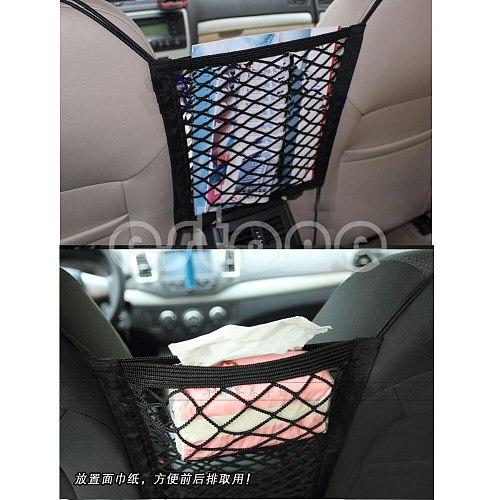 Unusual Universal Nylon Car Truck Storage Luggage Hooks Hanging Organizer Holder Seat Bag Net Mesh
