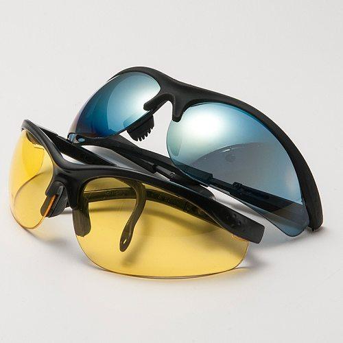 1pcs Driving Anti-Glare Polarized Sunglasses Goggles Eyewear Night Vision Drivers Goggles Interior Accessory Protective Gears