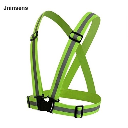 360 Degrees Reflective Safety Vest Strips High Visibility Security Jacket Reflective Strips Work Uniforms for Running Cycling
