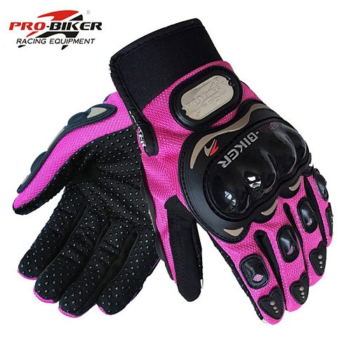 PRO Biker Motorcycle Gloves Moto Luva Motocross Breathable Racing Gloves Motorbike Bicycle cycling Riding Glove For  Men Women