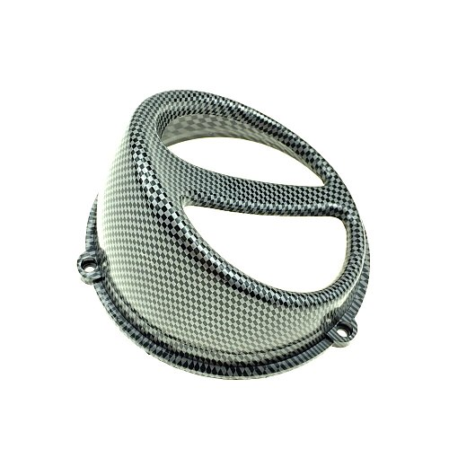 Motorcycle Accessories Scooters universal Modified imitation Carbon fiber snout Fan cover For YAMAHA SUZUKI HONDA JOG DIO GY6