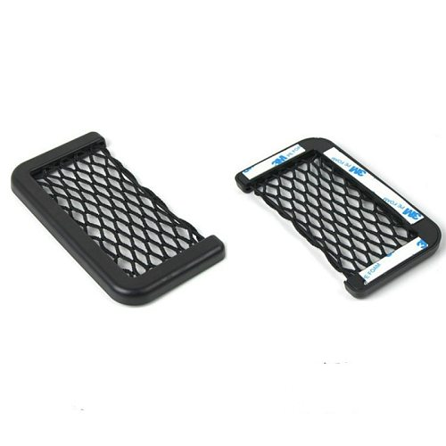 For Nissan Juke Cube Note E11 E12 March Micra K12 Car Seat Back Storage Net Bag Phone Holder Mesh Organizers Pockets Trunk Net