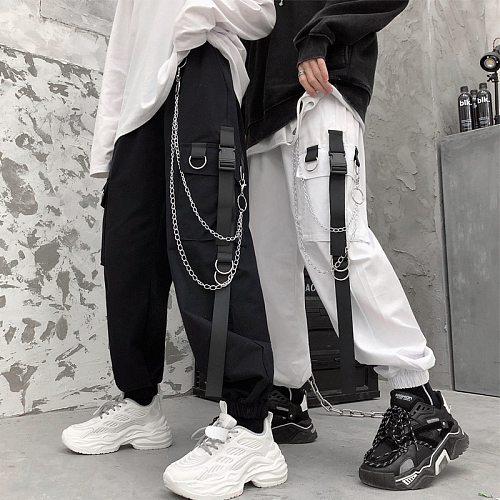 Women's pants y2k harajuku Hip hop streetwear trousers dropshipping sweatpants black kpop oversized gothic korean Punk clothes
