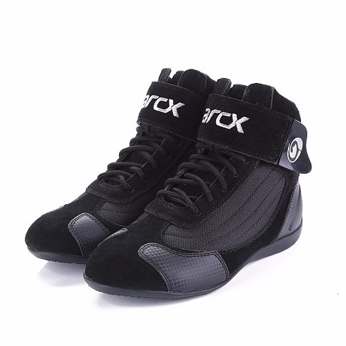ARCX Motorcycle Riding Breathable Boots/ Moto Protection Motorbike Biker Touring  Shoes for Men and Women Summer Motorboats