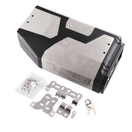 Motor Accessories Box Left Side Bracket Aluminum Box Fit For BMW R1250GS R1200GS LC & Adventure 2002 2008 2018 Motorcycle Tool
