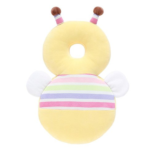 Baby Head Protection Pillow Anti-Fall Pillow 3D Rebound PP Cotton Children Protective Cushion Baby Safe Care