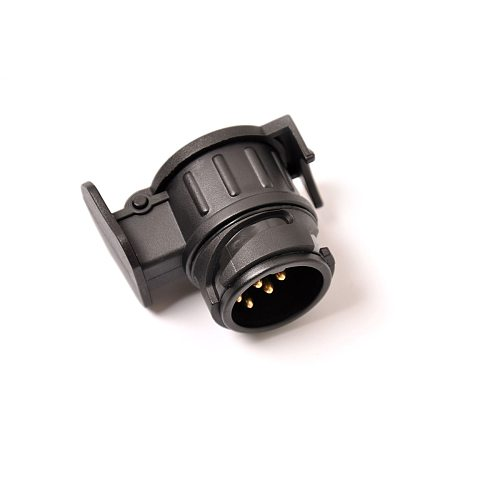 Durable 13 To 7 Pin Plug Adapter Trailer Connector 12V Towbar Towing Waterproof Plugs Socket Adapter Protect Connections A30