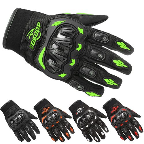 Motorcycle Gloves Breathable Full Finger Racing Gloves Outdoor Sports Protection Riding Cross Dirt Bike Gloves Guantes Moto