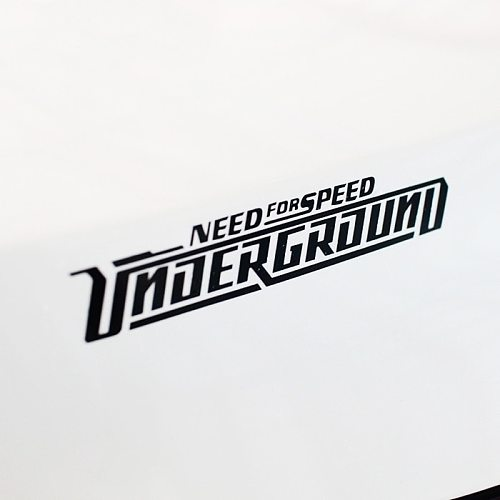Car Styling Sticker for Need Speed More Ground Racing Automobile Motorcycle Helmet Bicycle Decals