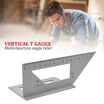 Aluminum Alloy Woodworking Measuring Ruler Elaborate Manufacture Prolonged Durable Engineers Combination Square Ruler