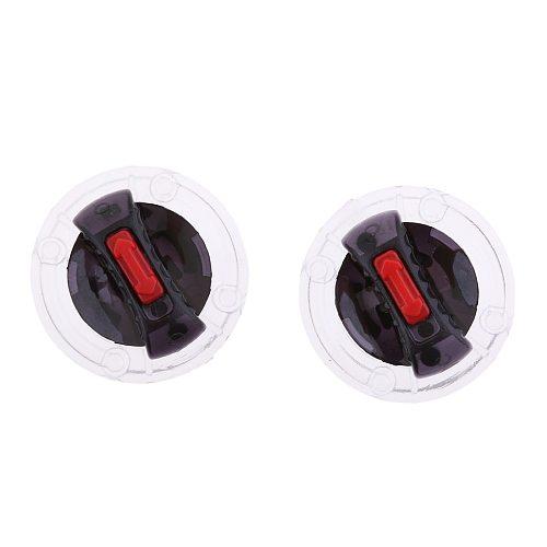 2 Pieces Helmet Lens Fix Base for LS2 Helmet OF569 FF370 FF396 FF394 FF358 FF386