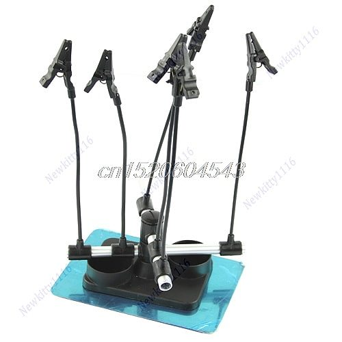 Model Hobby Parts Holder Airbrush Paint Spray Gun Booth Hold R06 Whosale&DropShip