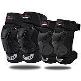 WOSAWE Motocross Knee Pads Elbow Protector motorcycles motorbike off-road racing protective gear Skiing Skateboarding guard