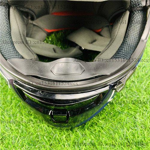 Shoeii Helmet Nose Guard Breath Deflector Helmet Accessory with Shoeii LOGO for Shoeii X14 Shoei Z7
