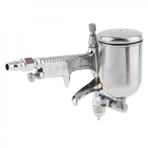 Aluminum Alloy Pneumatic Spray Gun Mini Paint Sprayer with 0.5mm Diameter Nozzle for Leather Wall Painting Tools