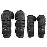 MTB Motorcycle Knee Elbow EVA Protective Pad Set Motocross Snowboard Racing Ski Racing Roller Body Protection Knee Pads Kits