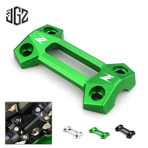Motorcycle CNC Aluminum Handle Bar Risers Clamp Mount Cover for Kawasaki Z800 2014 2015 2016 Z250 2012 2013 Z300 2014 2015 2016