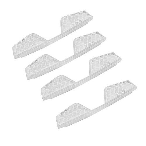 Engine Bonnets car accesories 4pcs Anti Scratch Car Door Reflective Strip Guard Sticker Rubber Edge Protector hood