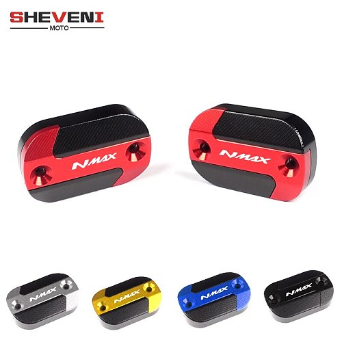 New Design For YAMAHA NMAX 155 N-MAX 150 N-MAX 155 NMAX 125 2015-2019 Motorcycle accessories front brake fluid reservoir cover