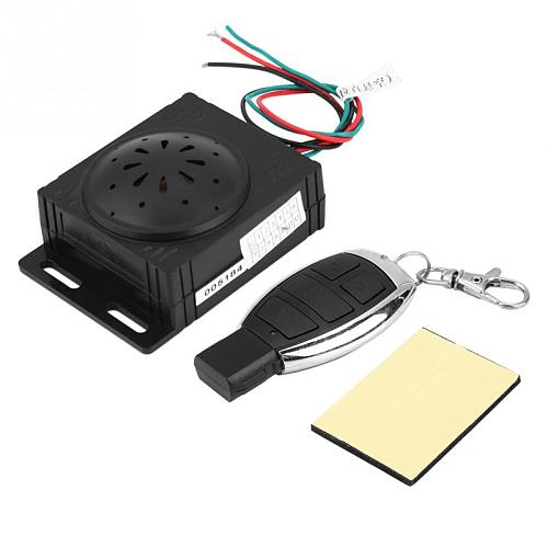 Motorcycle Anti-theft Security Alarm System with Remote Control 9-16V Universal Scooter Motorbike Accessories