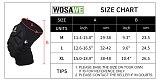 WOSAWE EVA Motorcycle Knee Pads Racing Guard Protective Gear Adult Sports Knee Protector Skate Skiing Moto Kneepads Elbow Guards