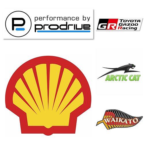 Vinyl Car Accessories Sticker SHELL-OIL-RACING Logo Modeling Bumper Racing Motorcycle Helmet Decals