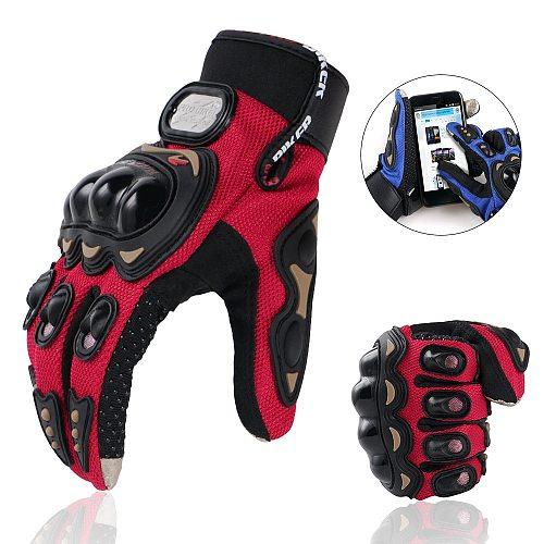Touchscreen Bicycle Short Sports Motorcycle Glove Power Sports Racing Gloves for KTM Husqvarna Husaberg Harley Davidson Yamaha