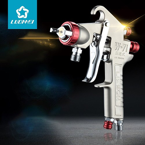 LUOMEI airbrush mini pistola de pintura automotiva  profesional pneumatic tool Spray gun gti hvlp kit pistola de pintura tornado