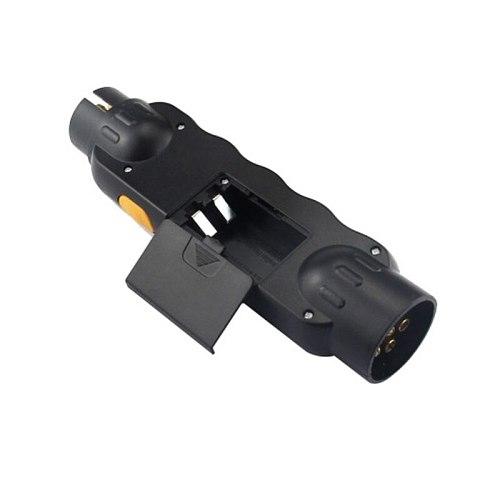 Durable 12V 7-Pin Car Truck Trailer Plug Socket Tester Wiring Circuit Light Test Tool For European