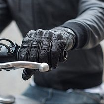 2020High Quality Goatskin Racing Riding Gloves MX Motocross Gloves Touch Screen Breathable Genuine Leather Motorcycle Gloves Man