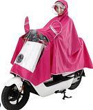 double cap Motorcycle Rider Raincoat scooter rain coat universal raincoat-women-men red blue black xxxl xxxxl free shipping