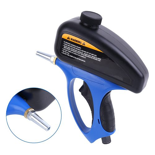 Anti-rust Sandblaster Spray Gun Handheld Pneumatic Sand Blasting Glass Tombstone Sprayer Sandblasting Machine Air Power Tools