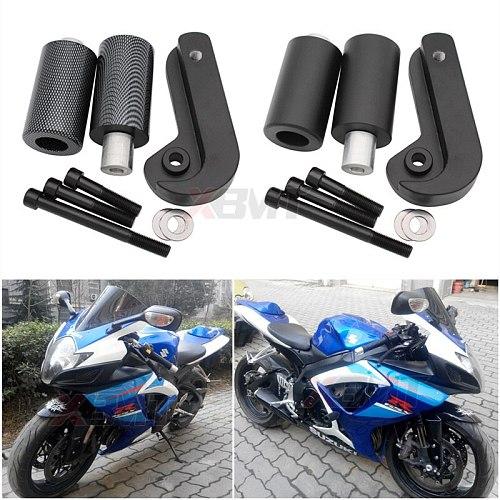 Motorcycle No Cut Frame Sliders Crash Falling Protection For Suzuki GSXR600 GSXR750 GSXR GSX-R 600 750 K6 K8 2006 2007 2008