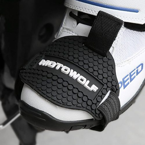 Motorcycle Gear Shift Collars Protection Shoe Outdoor Non-Slip Super Wear-Resistant Shoes Cover Motorcycle Safety Band
