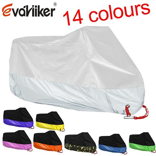 14colors Uv Protector Rain Dustproof Scooter Covers waterproof Motorcycle cover for KAWASAKI ZX6R ZX10R ZZR1100 ZX14R ZX9R