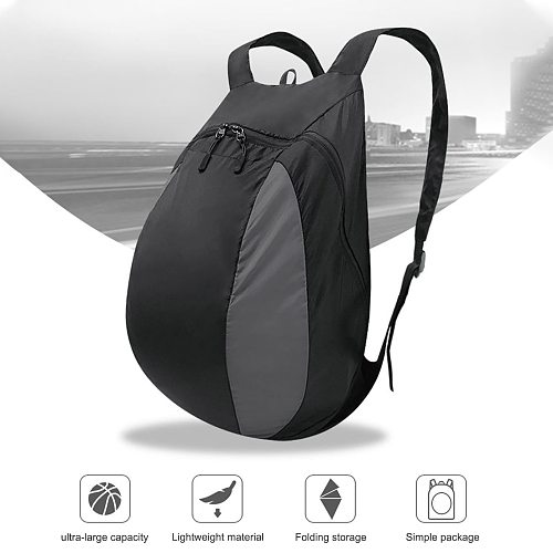 Motorcycle Helmet Backpack Lightweight Storage Carrying Bag for Riding Bicycle Motorcycle Sport Gym Training Also Fit Basketball
