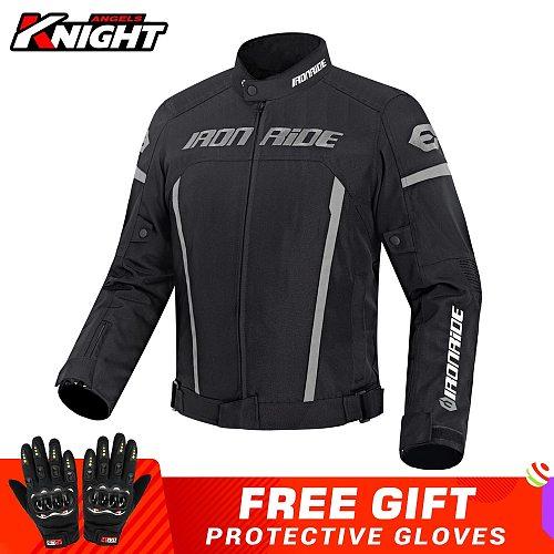 Motorcycle Jacket Waterproof Winter Cold-proof Motocross Jacket Biker Motorbike Motorcycle Clothing Moto Jacket Protective