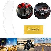 Rainproof Motorcycle Helmet Lens Film Protective Clear Visor Shield Sticker 77HF