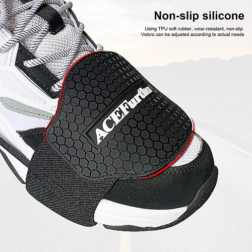 1PCS New Motorcycle Shoes Protective Motorbike Moto Gear Shifter Men Shoe Boots Protector Shift Sock Boot Cover Shifter Guards