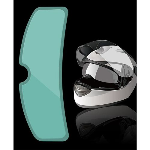Full-frame Universal Motorcycle Helmet Rainproof Anti-fog Film Helmet Lens Patch G8TE