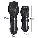 4pc Motorcycle knee elbow pads Motocross knee protectors Shin Guards protective Gears for skiing skating racing riding