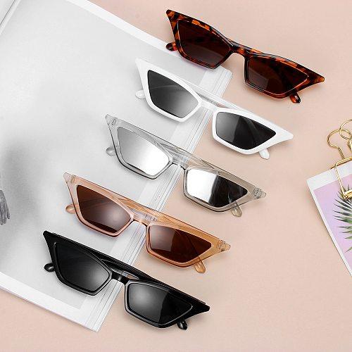 Top quality Fashion Women Glasses Small Frame Cat Eye Sunglasses UV400 Sun Shades Glasses Street Eyewear Female glasses