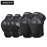 BSDDP 4pcs Motorcycle Kneepad Cycling Motocross Elbow Knee Pads Guard Brace Protector Protective Protective Gear equipment