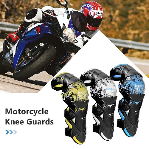 45cm Motorcycle Knee Guard Racing Knee Protector Guards Riding Knee Sliders Knee Pad Protective Gear Armor For Skating Skiing