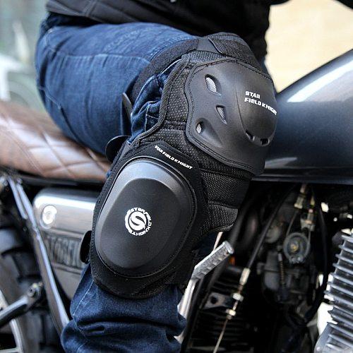 SFK Professional Motorcycle Knee Pad Protective Road Racing Dedicated Curved Grinding Block Slider Racing Plus bend Knee pads