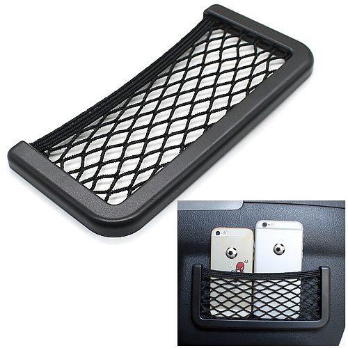 For Renault ESPACE 4 Renault SCENIC 2 Car Seat Back Storage Net Bag Phone Holder Car Seat Mesh Organizer Pockets Trunk Net