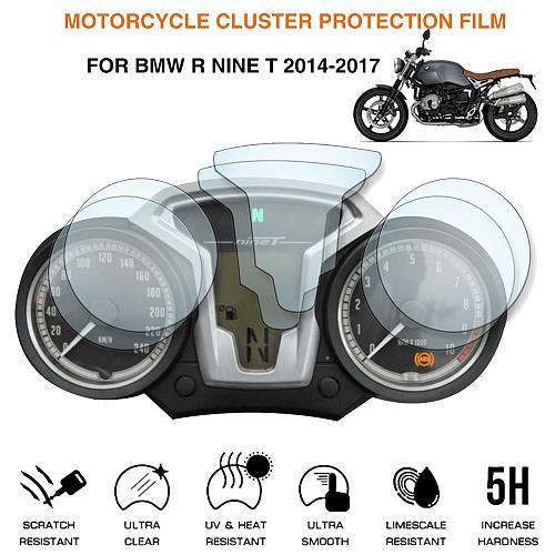 Motorcycle Cluster Scratch Protection Film Screen Protector For BMW R Nine T 2014-2017