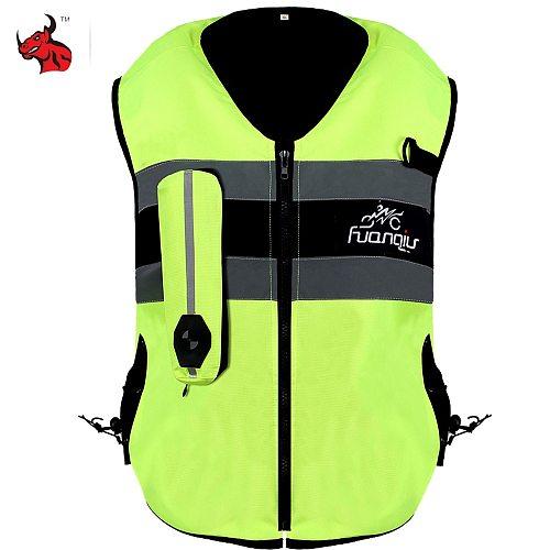 New Safty Life Jacket Motorcycle Jacket CE Certification Motorcycle Air Bag Vest Moto Airbag Vest Motocross Airbag Vest