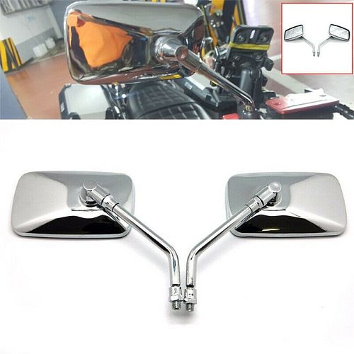 2021 New Motorcycle Modified Square Rearview Mirror for honda Shadow VT VT1100 VT750 VT600 VF750 Magna 750