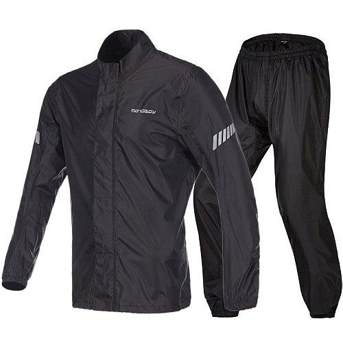 Cycling Jacket Riding Raincoat Rain Suit & Pants Women Men Suit Rain Coat Outdoor Bicycle Raincoat Motorcycle Rain Gear Sets